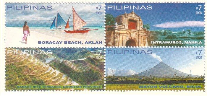 Philippine Tourism Block of 4