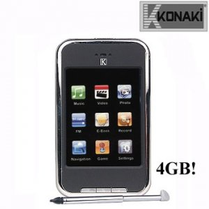 KONAKI DIGITAL TOUCH PERSONAL MP3/MP4 MEDIA PLAYER WITH CAMERA