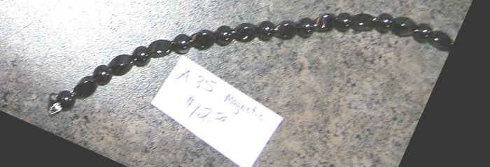 a35- Triple Strength Magnetic Bracelet