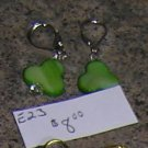 E23 - Earrings - Lucky Charm Clover Earrings