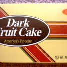 Jane Parker Fruit Cake DARK - 16 ounce Brandy Flavor (no alcohol)