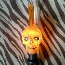 Scary Skull Bubble Light Night Light Halloween Decor