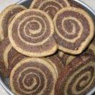 Peanut Butter & Banana Carob Pinwheels (Large)