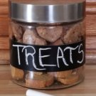 Personalized Dog Treat Canister