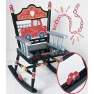 Levels of Discovery Wooden Fire Engine Rocking Chair RAB00024