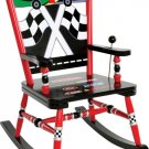 Levels of Discovery Checkered Flag Rocking Chair RAB00028