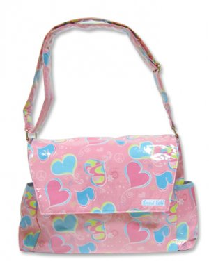 Groovy Love Retro Messenger Baby Diaper Bag 104400