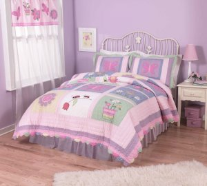 9PC Annas Pink Dream FULL Quilt Bedding Set QS1715FU