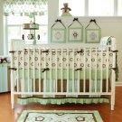 4PC My Baby Sam Forget Me Not Bedding Crib Set BD164