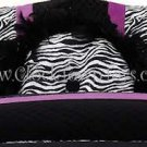 Purple Posh Spice Ruffled Pillow CF8041RP