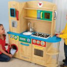 KIDKraft Pretend Play Cook Together Top Chef Kitchen 53186