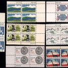 1964-67 - 20 Different 5¢ Commemorative Plate Blocks
