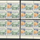 1960 Water Conservation (#1150) Matched Plate Blocks