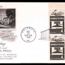 ART CRAFT - 1958 Freedom of the Press (#1119) FDC - PB UA