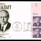 FLEETWOOD - 1960 Senator Robert A. Taft (#1161) FDC - PB UA