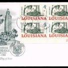 ARTMASTER - 1962 Louisiana Statehood Sesquicentennial (#1197) FDC - PB UA