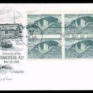 ARTMASTER - 1962 Homestead Act Centennial (#1198) FDC - PB UA