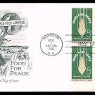 ARTMASTER - 1963 Food For Peace (#1231) FDC - PB UA