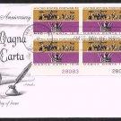 ARTMASTER - 1965 Magna Carta (#1265) FDC - PB UA