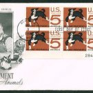 ART CRAFT - 1966 Humane Treatment of Animals (#1307) FDC - PB UA