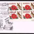 ARISTOCRATS / DAN LOWRY - 1969 Alabama Statehood Sesquicentennial (#1375) FDC - PB UA
