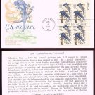 "COVER CRAFT - 1967 John James Audubon ""Columbia Jays"" Airmail (#C71) FDC - PB UA"