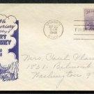 IOOR - 1948 Fort Kearney Centennial (#970) FDC