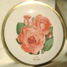1980 American Rose Society All-American Rose Plate - CHERISH
