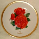 1984 American Rose Society All-American Rose Plate - IMPATIENT