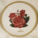 1984 American Rose Society All-American Rose Plate - OLYMPIAD