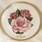 1985 American Rose Society All-American Rose Plate - QUEEN ELIZABETH