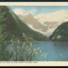 1950s Canadian Pacific Railway PC - Lake Louise and Victoria Glacier, BANFF National Park, Canada