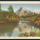 1950s Canadian Pacific Railway Postcard - Mt. Rundle, BANFF National Park, Canada