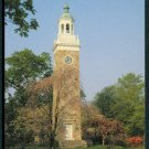 1980s Wellesley, Massachusetts Postcard - The Clock Tower