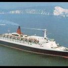 1980s Cunard QUEEN ELIZABETH 2 Glossy Postcards (2)