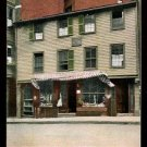 BOSTON, MASSACHUSETTS Vintage Postcard - Paul Revere&#39;s Home