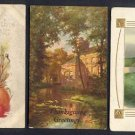 Vintage ca. 1912 THANKSGIVING Postcards (3) - Used