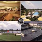 1970s PGA Sheraton Resort, Palm Beach Gardens, FLORIDA Postcard - Professional Golfers&#39; Association
