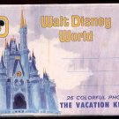 1970s Walt Disney World MAGIC KINGDOM, Orlando, Florida - Souvenir Mailer