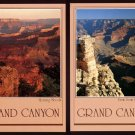 1983 GRAND CANYON National Park, ARIZONA Postcards (2) - South Rim Views