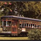 NEW ORLEANS, Louisiana Postcard - St. Charles Line Street Car
