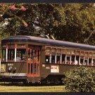 NEW ORLEANS, Louisiana Postcard - St. Charles Line Street Car