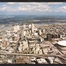 NEW ORLEANS, Louisiana Postcard - Aerial View of Downtown & The Superdome