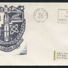 1968 US Navy Submarine Cover - USS JOHN C. CALHOUN (SSBN-630) - Cacheted