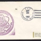 1967 US Navy Ship Cover - USS BAINBRIDGE (DLGN-25) - Cacheted
