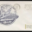 1967 US Navy Submarine Cover - USS SHARK - Cacheted
