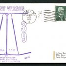 1970 U.S. Navy Keel Laying Cover - MOUNT VERNON (LSD 39)