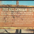 BOOT HILL CEMETARY Sign, Dodge City, Kansas - Unused Post Card