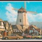 1977 SOLVANG, California - Windmill - Unused Curteich Postcard