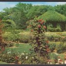 1953 HARTFORD, Connecticut - Rose Garden, Elizabeth Park - Unused Curteich Postcard